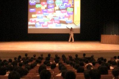中学生向け講演会人気